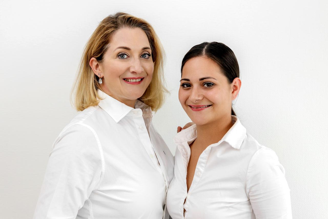 Vanessa Grebien und Annika von Eitzen